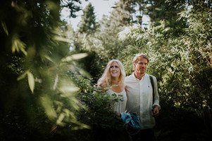 Engagement photoshoot in Gothenburg Bothanical Garden 2