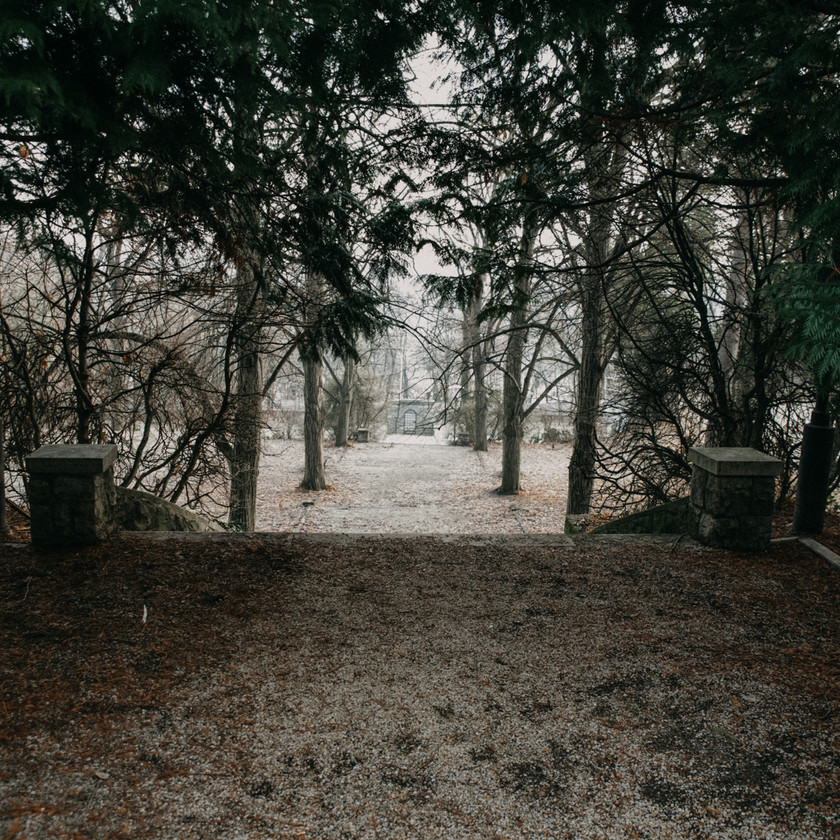 vintage winter wedding location by The Wedding Fox