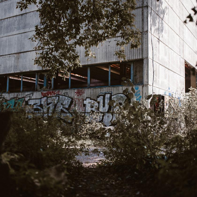industrial building shooting location