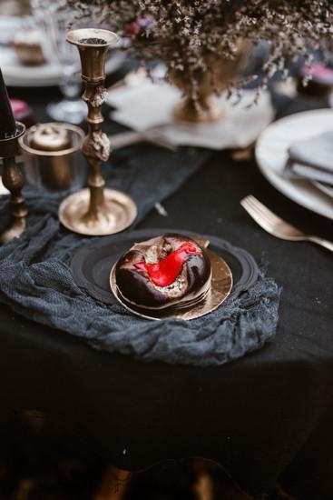 halloween inspired wedding styled shoot | bohobride 100layercake