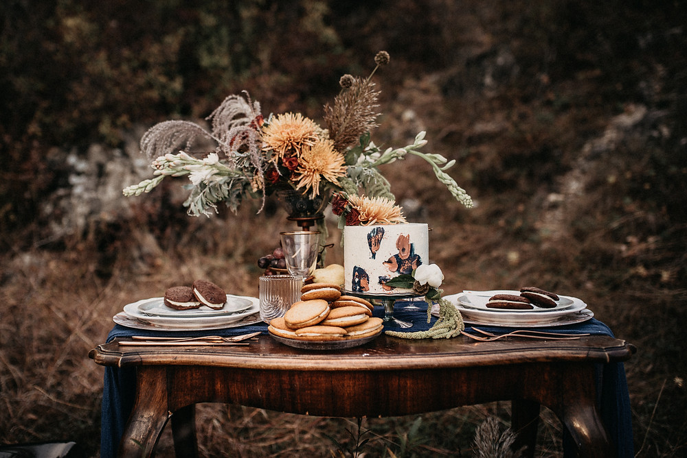 autumn wedding inspiration by Natural Wedding Decor