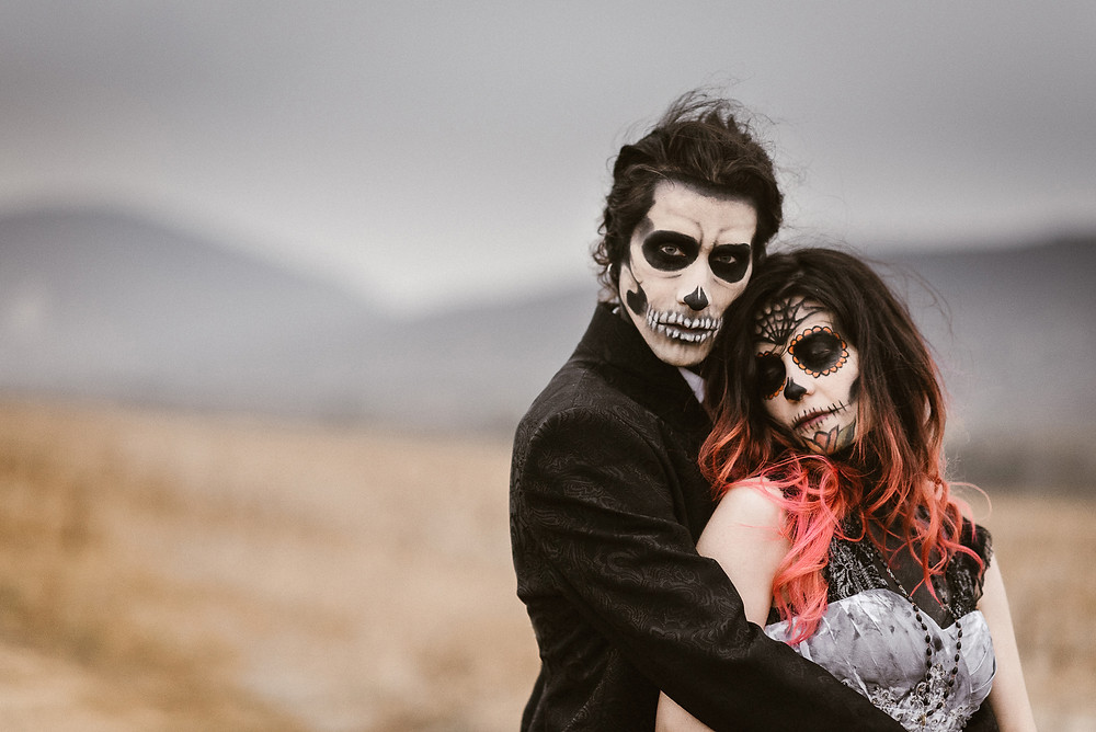 halloween inspired wedding styled shoot | bohemian weddings