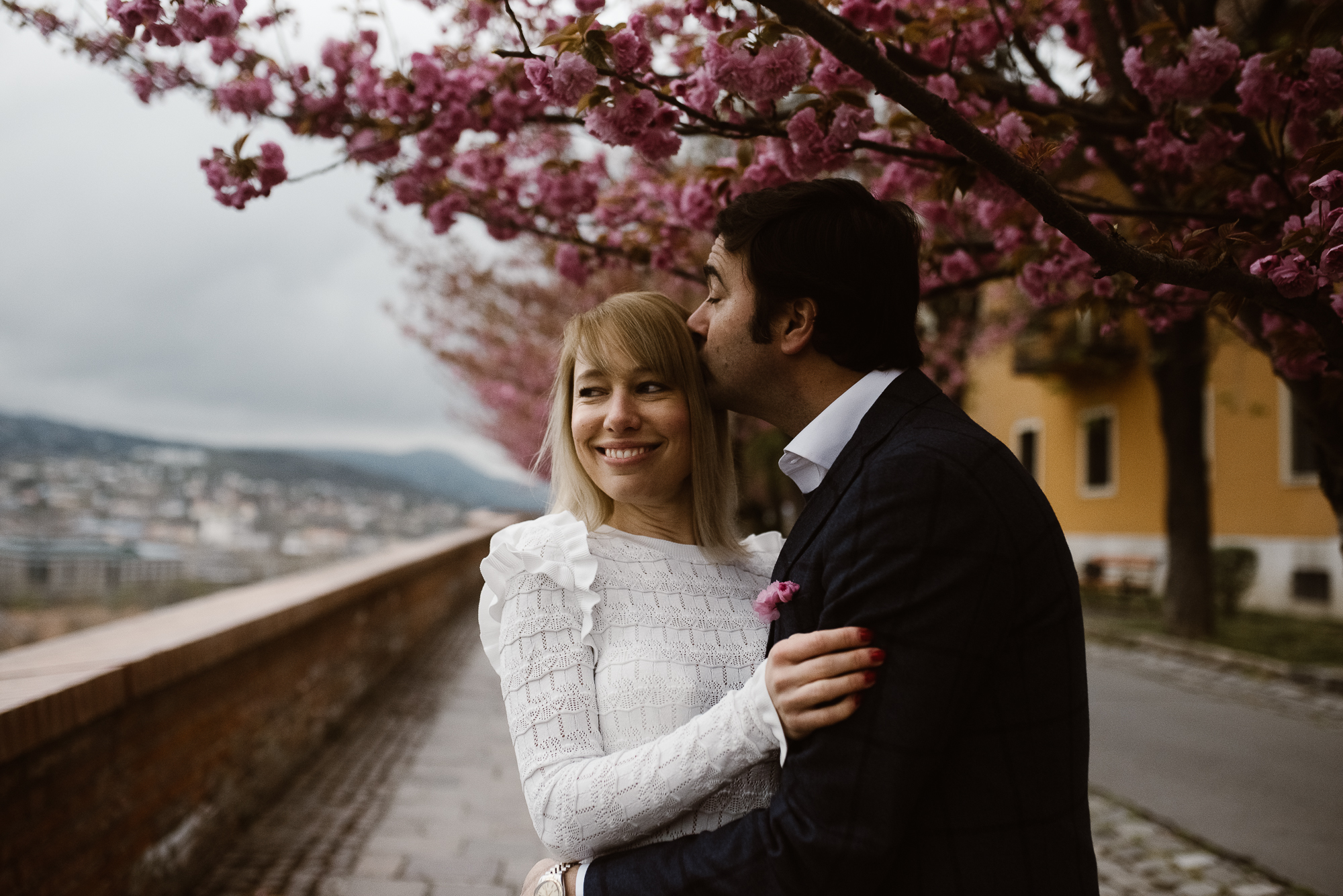 destination wedding photographer Budapest in historical Castle District | The Wedding Fox