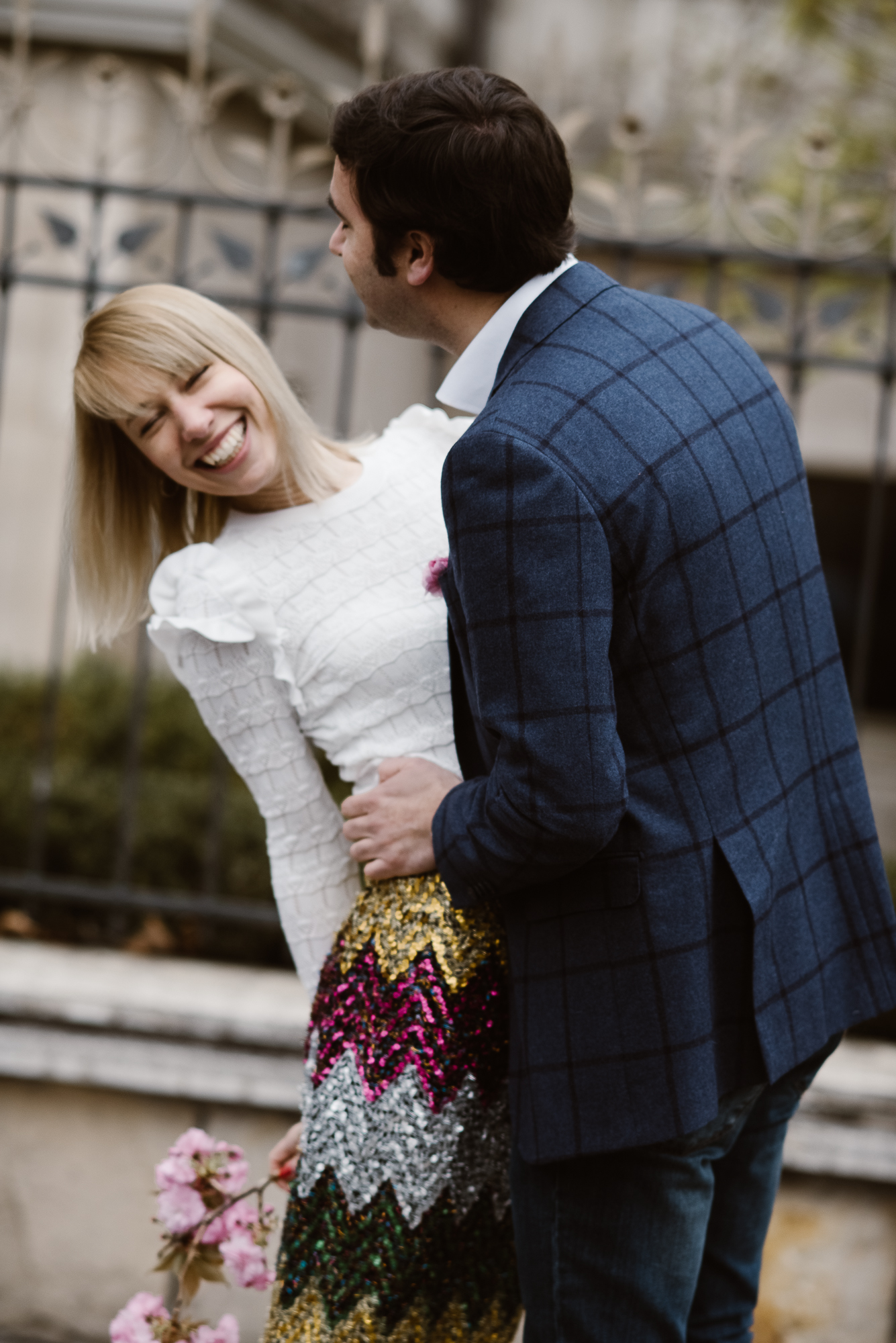 engagement photoshoot in Budapest by The Wedding Fox destination wedding photographer