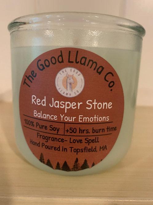 Legal Help, Win a Court Case (Red Jasper)