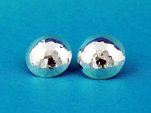 Kolczyki disco ball miseczki 15 mm