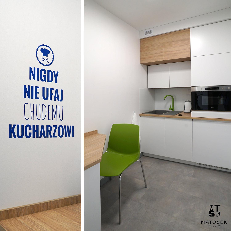 Projektant wnetrz Lubicz Matosek kuchnia