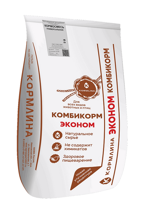Комбикорм Шуйский кормосмесь универсальная 30 кг