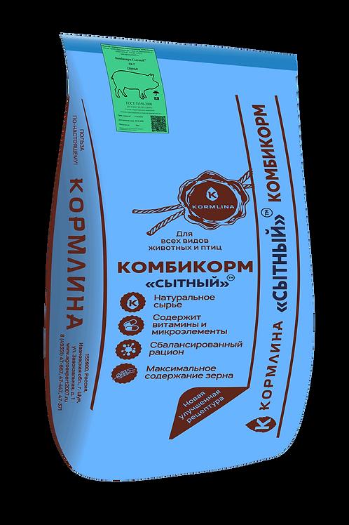 """Комбикорм Шуйский """"СЫТНЫЙ СК-7"""" для свиней 30 кг"""