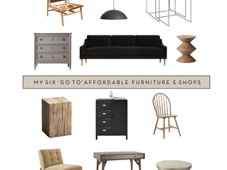 My Six go-to affordable online furniture shops