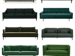 Ten of the Best: Green Sofas