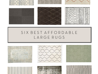 Six places to find huge, cheap rugs