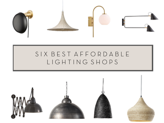 Six of the best: Affordable online lighting shops