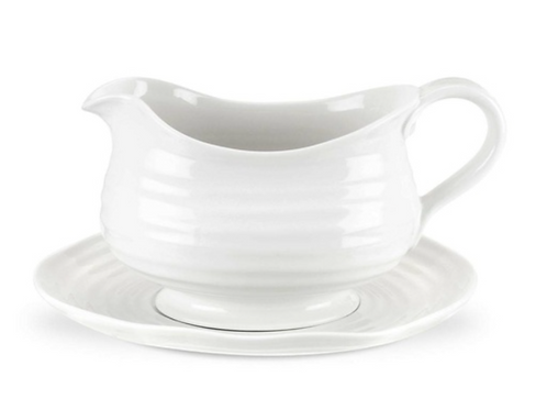 Sophie Conran for Portmeirion Gravy Boat and Stand