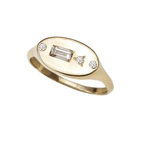 Siena Signet Ring