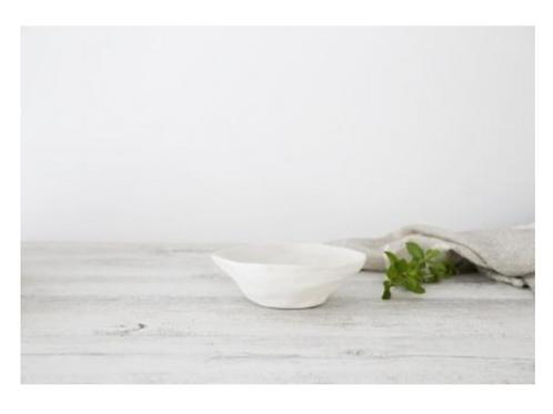 Flax Small Fruit Bowl - Snow White