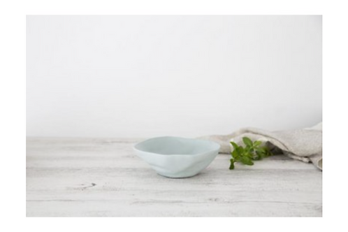 Flax Small Fruit Bowl - Duck Egg