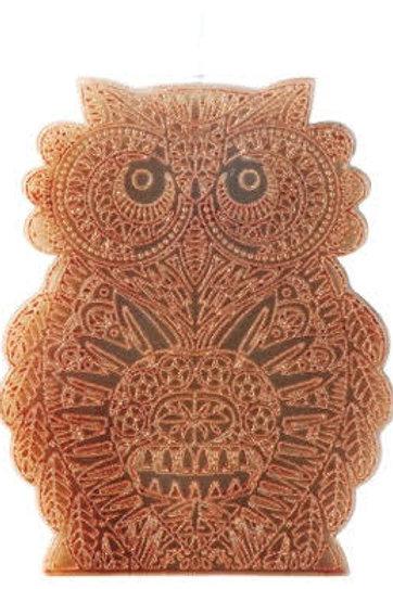 Large Owl Candle