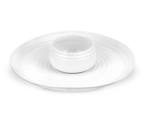 Sophie Conran for Portmeirion Dipping Dish and Platter