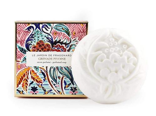 Fragonard Grenade Pivoine Perfumed Soap
