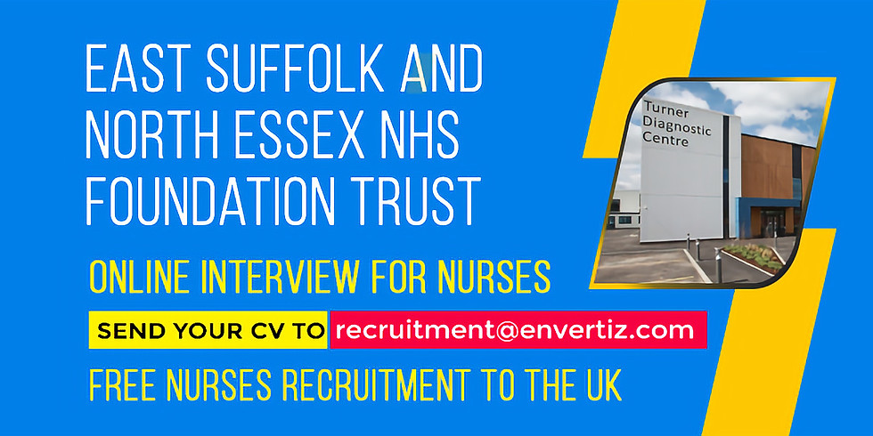 Nurses, Are you looking for a bright future in the UK? Then apply today