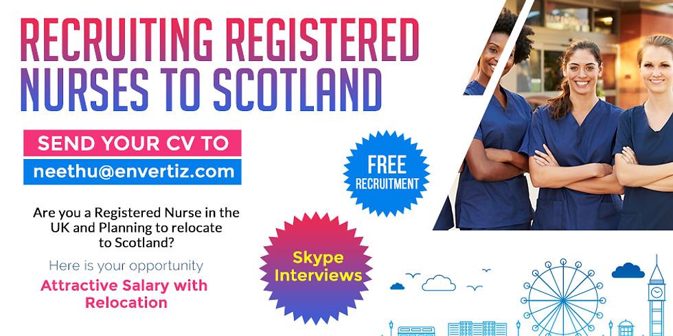 RECRUITING REGISTERED NURSES TO SCOTLAND
