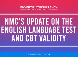 NMC's Update on the English Language Test and CBT Validity…