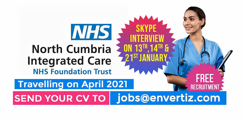 Hiring for North Cumbria Integrated Care NHS Foundation Trust in the UK