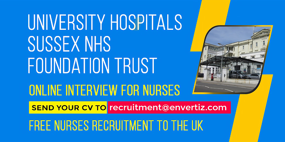 University Hospitals Sussex NHS Foundation Trust