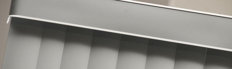 Detalhe de bandô na Vertical PVC