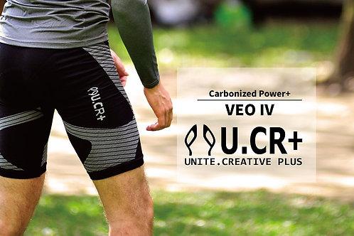 U.CR+ BAV4 Taiwan Excellence bamboo compression pants 竹炭分段壓力褲 ( 五分有墊 ) 2018台灣精品