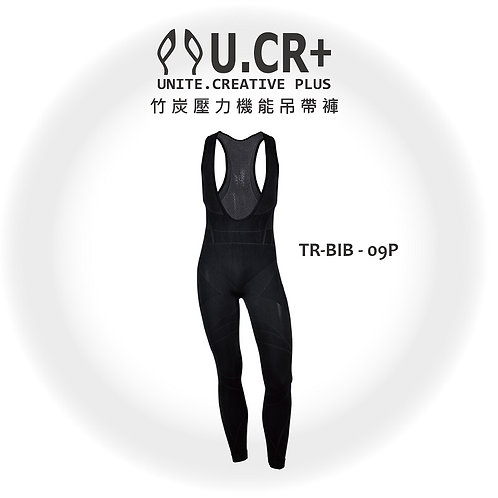 U.CR+ TR-9PBIB - 9point 竹炭壓力機能吊帶褲