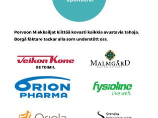 Kiitäämme SM-Kisan sponsorit!