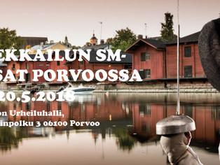 MIEKKAILUN SM-KISAT  PORVOOSSA / FM TÄVLINGAR I FÄKTNING 19 - 20.5.2018 - Kisa on avoin yleisölle!