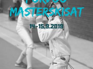 JUNIOREIDEN MASTERS-OSAKILPAILUUN PORVOOSSA 14-15.9.2019