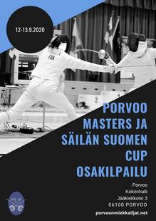 Porvoo masters ja säilän Suomen Cup osakilpailu 12-13.9.2020