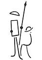 Don Quixote & Sancho Panza by Spyros Pilos