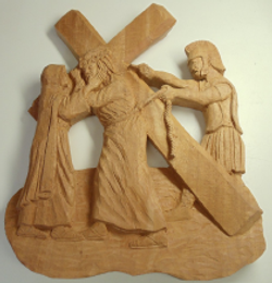 Station of Cross Carving