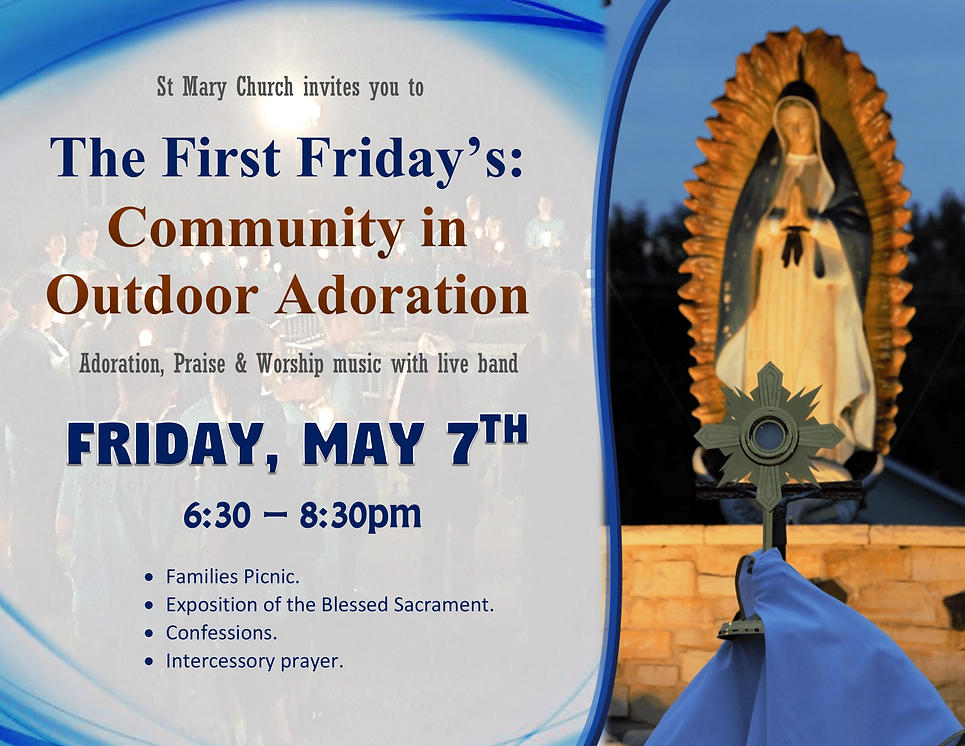 The First Fridays Community in Outdoor A