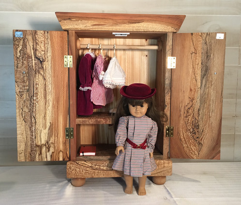 This Wooden Doll Armoireu0027 Is Part Of The Grandpau0027s Toy Creations  Collection. These Toys Were Built Lovingly For His Grandchildren, Because  He Wanted To ...