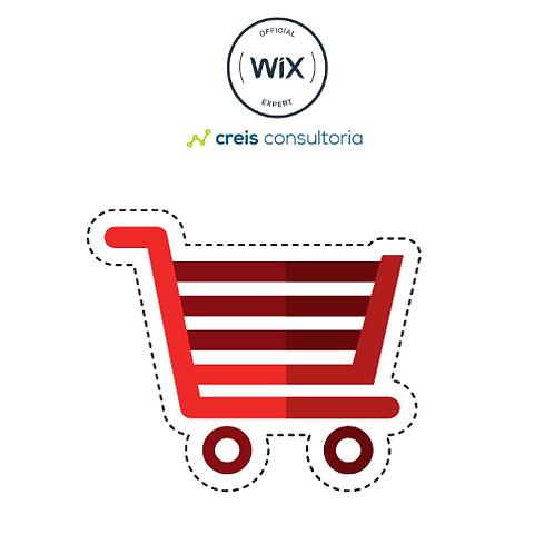 Configuração de Loja Virtual WIX  e ajustes de SITES WIX