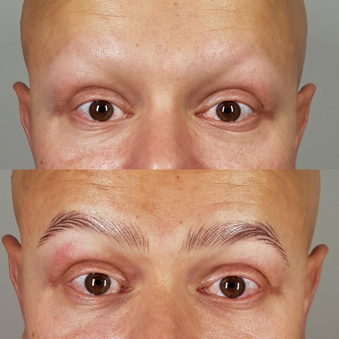 micro de sobrancelha masculina