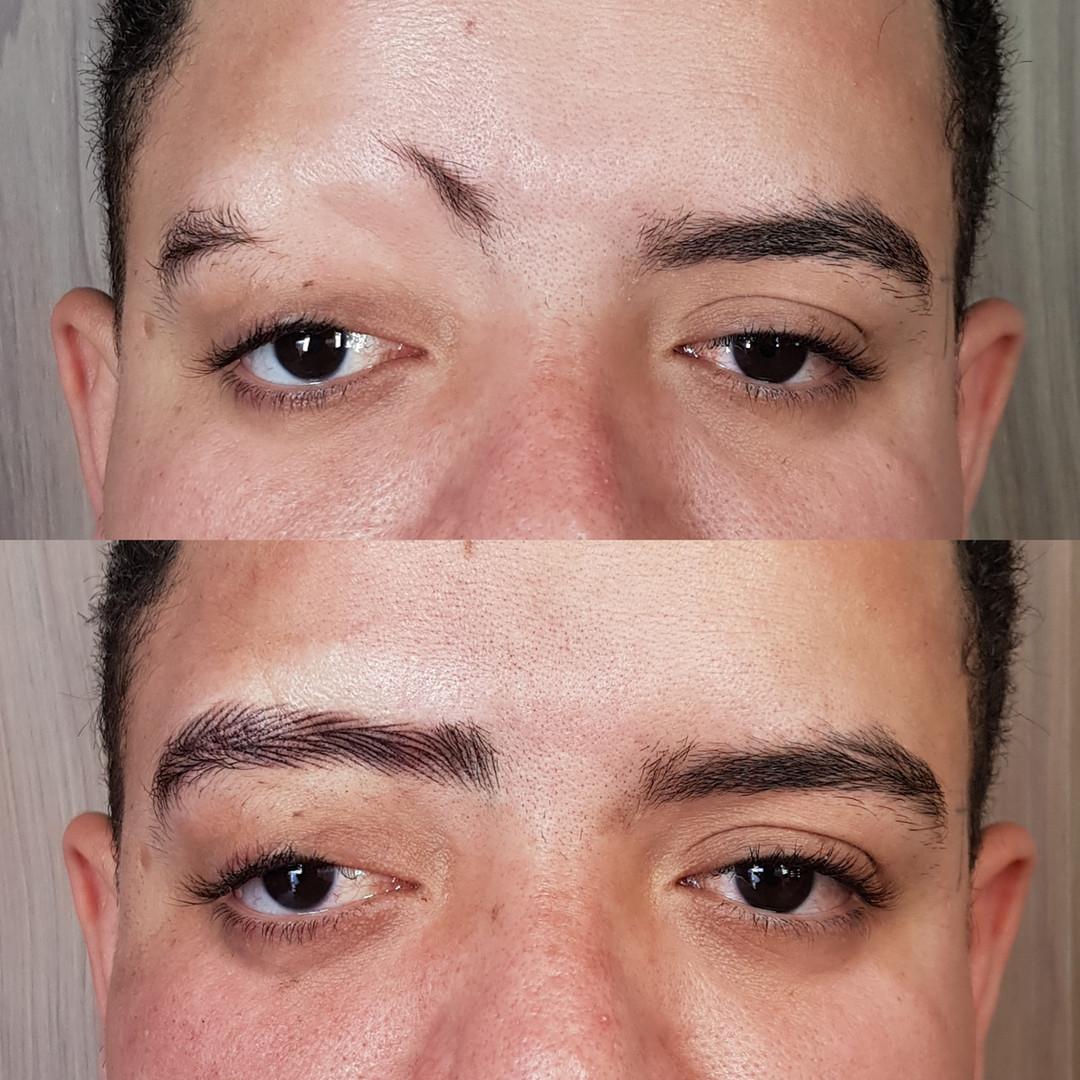 micropigmentação masculina em campinas