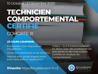 Online RBT training for French speakers