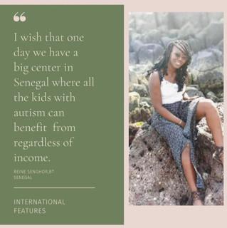Featured in AfricansinABA: Reine Senghor