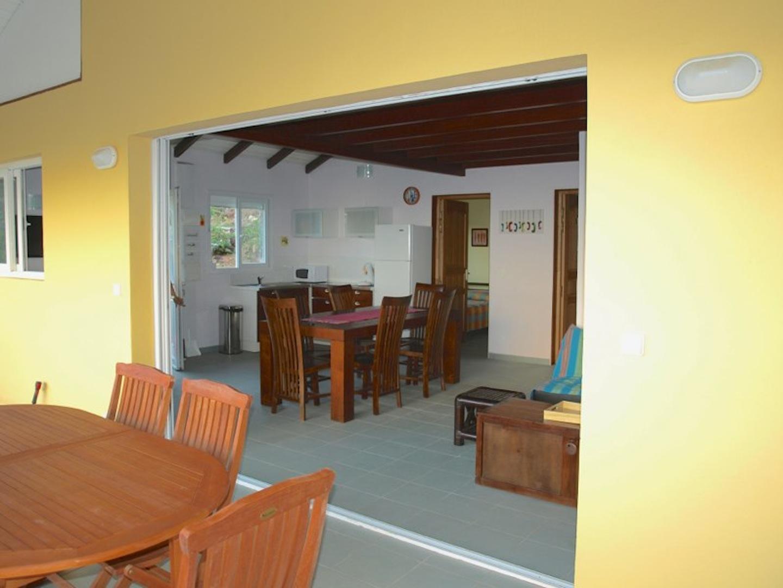 Terasse / Séjour - Villa Coco Fesse - Résidence Coco d'Iles - Les Saintes