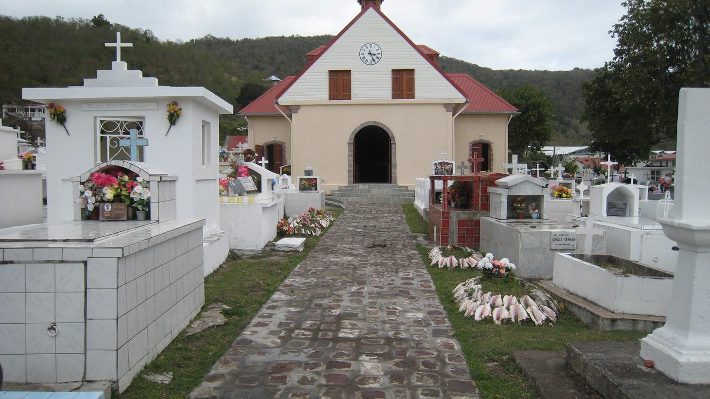 Cimetière Les Saintes - Résidence Coco d'Iles -  Les Saintes