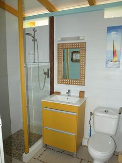 Salle de bain -  Ti Bambou - Résidence Coco d'Iles - Les Saintes