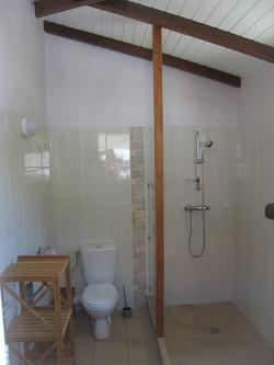 Salle d'eau - Villa Coco à l'Eau - Résidence Coco d'Iles - Les Saintes