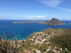 Vue au dessus de la Résidence Coco d'Iles -  Les Saintes